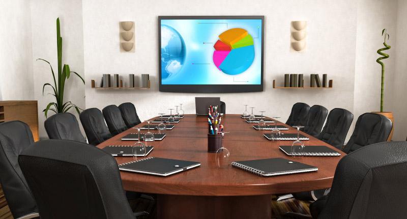 boardroom display